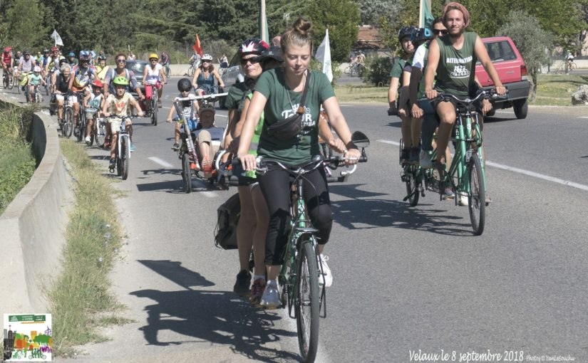 Le Tour Alternatiba dans La Provence