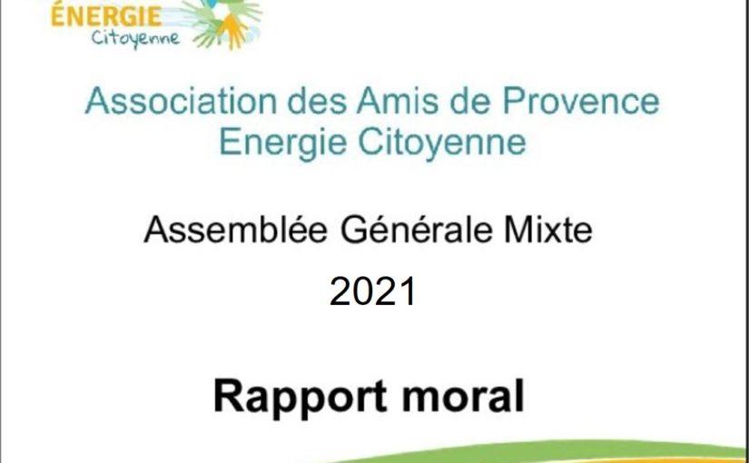 Assemblée Générale 2021 des «Amis de PEC»