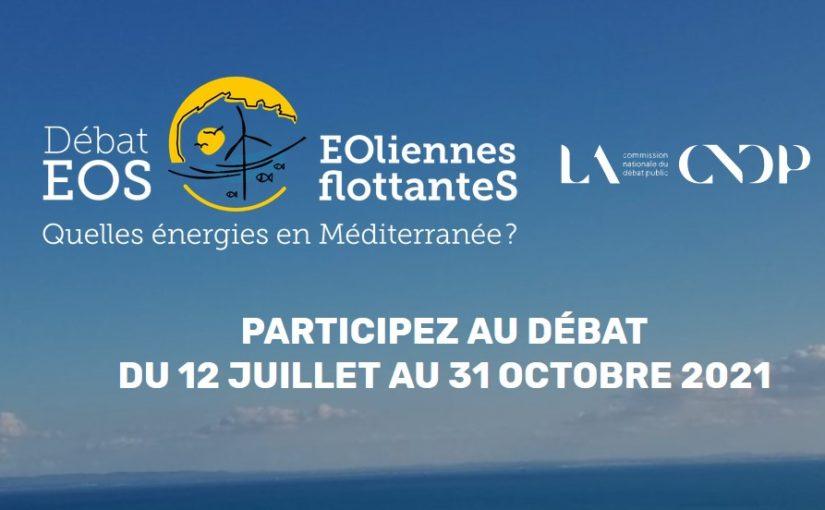 Projet Éolien en méditerranée : le Débat Public